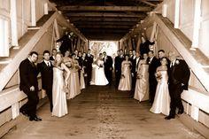 Covered Bridge wedding pics