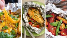 We're all about gourmet-ing it up with a grill-then-chill foil packet. Pre-make the perfect amount, pack it up, and take the rest of summer super-easy.