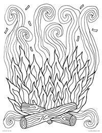 Th 019 Campfire Jpg 200 259 Summer Coloring Pages Monster Coloring Pages Coloring Pages Inspirational