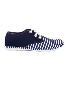 Pantofi albastri cu talpa joasa Julieta 01372 la pret mic - VODO.ro