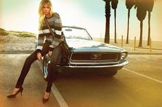 """California Dreaming"" - Kate Upton and Kellan Lutz for Dylan George and Abbot + Main Fall 2012 Ad Campaigns"