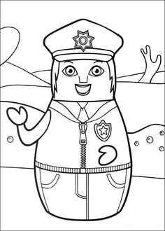 Higglytown heroes Coloring pages for kids. Printable. Online Coloring. 24