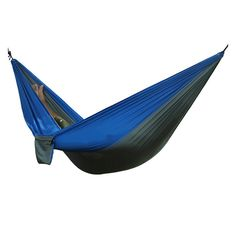 And Children Women Hiking Camping 270*140cm Hammock Portable Nylon Safety Parachute Hamac Hanging Chair Swing Outdoor Double Person Leisure Hamak Suitable For Men