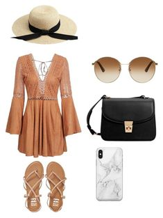 """""""Summer"""" by kamryn-123 on Polyvore featuring Billabong, MANGO, Gucci and Recover"""