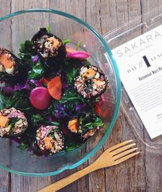 @sakaralife organic meal delivery | clean, delicious, thoughtful + nourishing | #sakara #wellness #selfcare