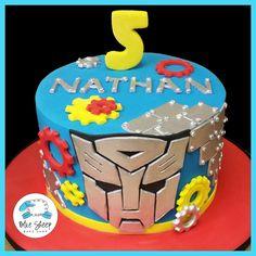 Transformers Birthday Cake – Blue Sheep Bake Shop