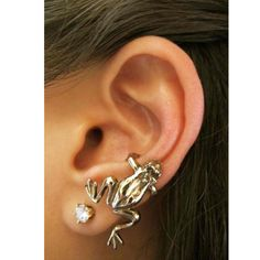 Ear Cuff - Frog by Marty
