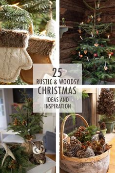 rustic woodsy christmas