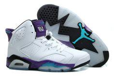 Air Jordan 6 Women Grape