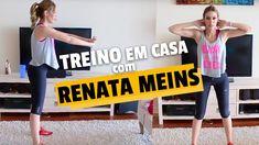 Treino para secar barriga com Renata Meins