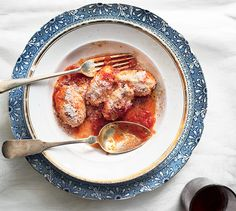 These dumplings are delicious with pomodoro sauce, or try them with brown butter and sage; click here for a recipe.