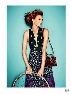 Jacquetta Wheeler - Fashion Model for Elle, UK, January 2015