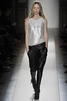 Balmain Fall 2008 Ready-to-Wear Fashion Show - Raquel Zimmermann