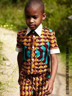 Working the head to toe pattern look. Does he know how cool he looks?