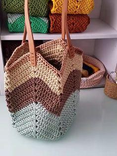 Free Crochet Bag, Crochet Market Bag, Crochet Tote, Crochet Handbags, Crochet Purses, Crochet Crafts, Crochet Storage, Crochet Granny, Crochet Projects
