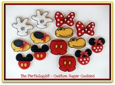 MICKEY & MINNIE | disney cookies - Google Search