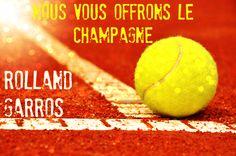 Vous venez assister à Rolland Garros?  Nous vous offrons le Champagne! You are going to Rolland Garros?  Champagne is on us! #HSSParis #rollandgarros #tennis #stayfit #champagne #travel #hssg #hotel