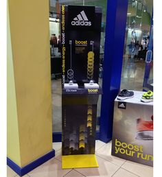 Adidas Energy Boost Floor Display Lets You Try Before You Buy