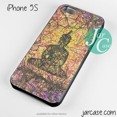 budha floral Phone case for iPhone 4/4s/5/5c/5s/6/6 plus