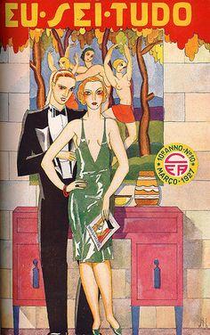 Eu Sei Tudo, No. 10, March 1927 (Brazil) by Gatochy, via Flickr