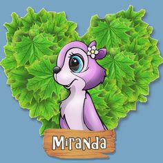 Miranda the Squirrel from Nuts!