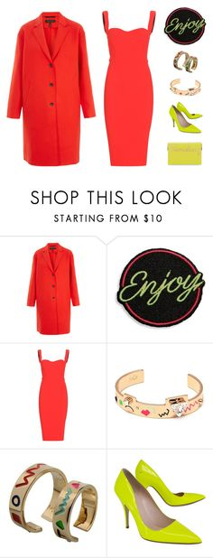 """Untitled #1468"" by campbell765 ❤ liked on Polyvore featuring rag & bone, Marc Jacobs, Victoria Beckham, Maria Francesca Pepe, Kate Spade and Charlotte Olympia"