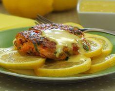 Paleo Crabcakes with Lemon Aioli Sauce #PaleoNewbie