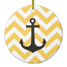 Anchor Circular #Ornament #holidays #christmas #home #decor