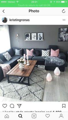 Scandinavian interior natural style