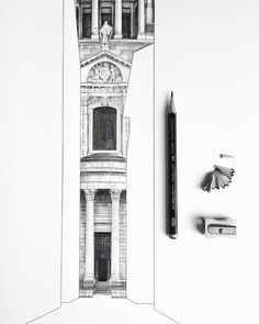 This is my fourth drawing of St Paul's Cathedral this year...still have at least another three different views of it in my head that I still need to draw! Can never get enough of a good thing! #London #cathedral #architecture #artist #fineart #pencil #drawing #church #stpaulscathedral #illustration #sketch #wip #travel #westdesignproducts #fabercastell #weekend #friday