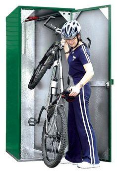 Outdoor Vertical Bike Lockers