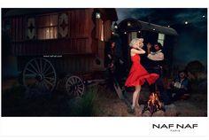 """""""Lignes de vie"""", Agence Gaultier Collette pour NAF NAF, été 2012"""