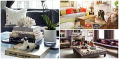 12 Coffee Table Styling Ideas To Steal  - ELLEDecor.com