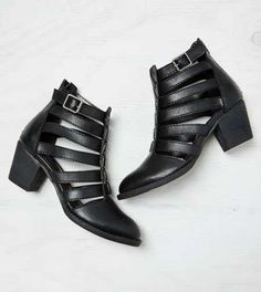 AEO Strappy Cutout Bootie - Buy One Get One 50% Off + Free Shipping