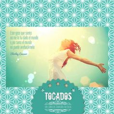 """""""Este gozo que siento no me lo ha dado el mundo y por tanto el mundo no puede arrebatármelo."""" Shirley Caesar. Descubre TOCADOS, una novela sobre el T.O.C., los sueños y las batallas que hemos de librar con nosotros mismos para hacerlos realidad. http://www.amazon.es/Tocados-tienes-llave-Damián-Alcolea-ebook/dp/B00IGB1P1S."""