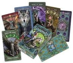 Anne Stokes Legends Tarot Deck Cards for sale online Anne Stokes, Tarot Card Decks, Tarot Cards, Most Popular Artists, Tarot Astrology, Famous Artwork, Tarot Learning, Unicorn Art, Tarot Spreads