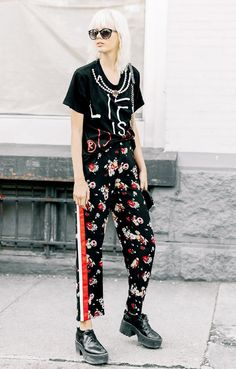 track pants outfit