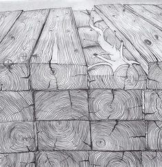 rnrnSource by inesseidel Simulated Texture, Stylo Art, Giuseppe Penone, Texture Drawing, Ink Pen Drawings, Visual Texture, Ink Illustrations, Pen Art, Elements Of Art