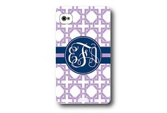 Phone Cover For Those Who Like Monogramming!