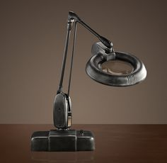 1940s Jeweler's Task Table Lamp