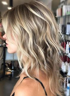 60 Lovely Long Shag Haircuts for Effortless Stylish Looks Beach-Ready Bronde Razored Hairstyle Medium Shag Hairstyles, Long Face Hairstyles, Hairstyles Haircuts, Fashion Hairstyles, Layered Hairstyles, Medium Hair Cuts, Medium Hair Styles, Curly Hair Styles, Medium Hair With Layers