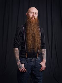 Preview of my latest project on… beards…