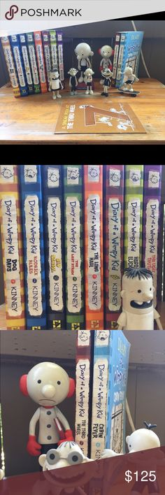 The wimpy kid do it yourself book diary of a wimpy kid jeff dairy of a wimpy kid collection solutioingenieria Choice Image