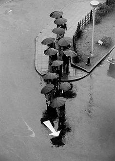 undr:    André Kertész  Rainy Day, Tokyo 1968