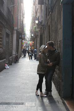 In love in Barcelona <3