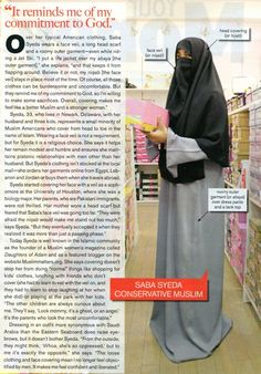 Saba Syeda discusses her life living in Delaware and wearing a full Niqab. She wasn't forced into it - actually the opposite, as her parents were worried when she started wearing the face veil that she would stand out too much, but eventually they accepte