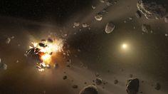 Un asteroide de 35 metros de largo ha pasado inusualmente cerca de la Tierra…