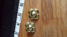 vintage silver earrings by justgemz on Etsy, £5.00