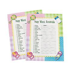 Baby Word Scramble Baby Shower Game ~ 24 sheets OTC OTC http://www.amazon.com/dp/B004SYO5BE/ref=cm_sw_r_pi_dp_dwm2wb06RA4PD
