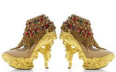 zapatos raros y extravagantes , Indian shoes